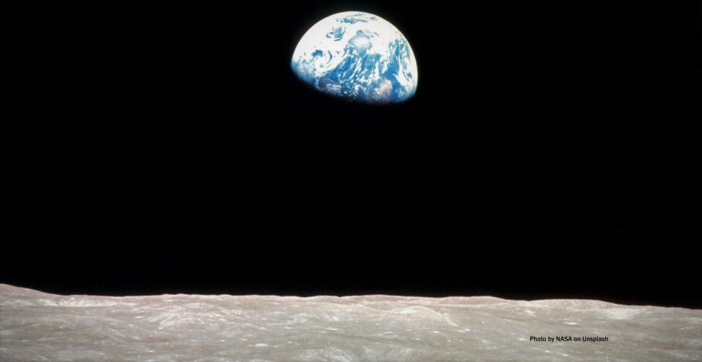 NASA-earthrise - Photo by NASA on Unsplash